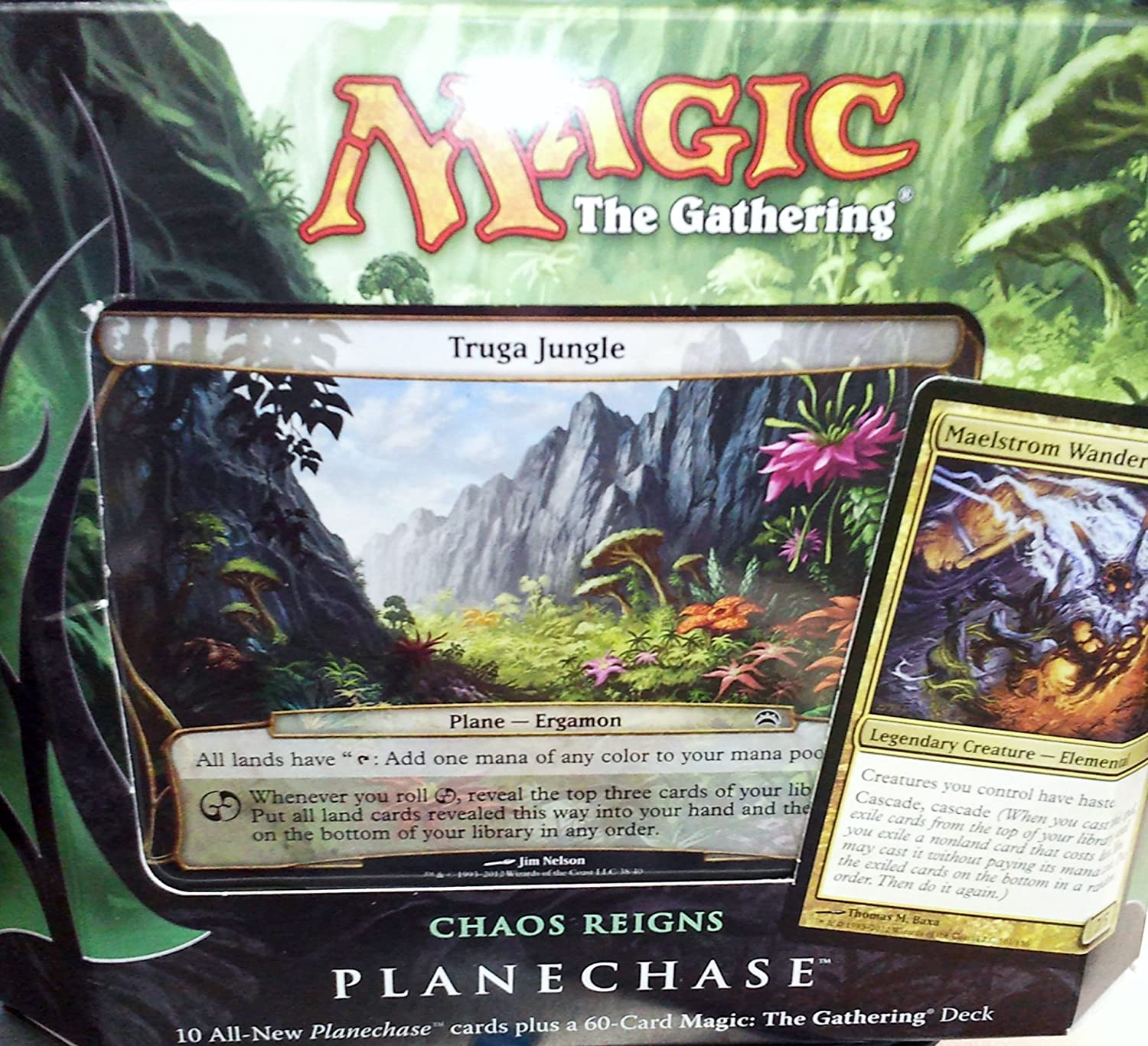 cheap Magic: The Gathering - Planechase Chaos quality assurance 2012 Reigns Edition