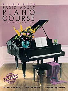 Alfred'S Basic Adult Piano Course Lesson 1