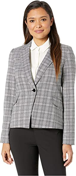 Woven Button Front Jacket