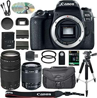 Best canon 77d refurbished Reviews