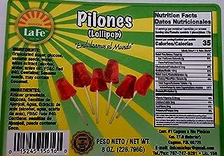 Lolipops (Pilones) By Fabrica De Dulces La Fe (12-18 Pieces)