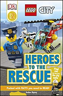 DK Readers L2: LEGO City: Heroes to the Rescue: Find Out How