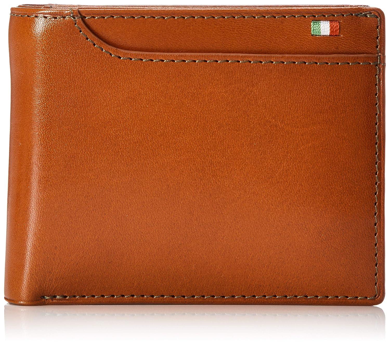 [ミラグロ] 二つ折り財布 タンポナートレザーシリーズ
