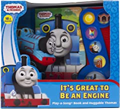 Thomas & Friends - It's Great to be an Engine Sound Book and Huggable Thomas Plush - PI Kids