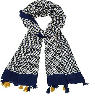 Femmes écharpe bleu beige rosé Ella Jonte large écharpe nouvelle saison viscose New dans