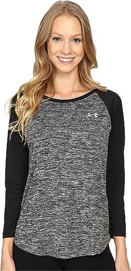 Under Armour - UA Tech 3/4 Sleeve Shirt - Twist