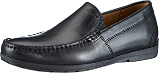 Geox U Siron W C - Smooth Leather Men's Loafers