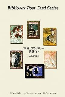 BiblioArt Post Card Series W. H.ブラッドリー 特選(1) 6枚セット(解説付き)