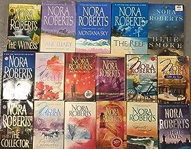 Nora Roberts Trade Paperback Romance Novel Collection 17 Book Set