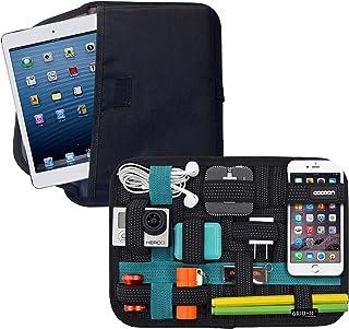 "Cocoon CPG41BKT 8"" GRID-IT!® Tablet Pocket Organizer (Black/Teal)"