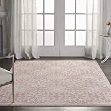 Best pink and white striped area rug Reviews