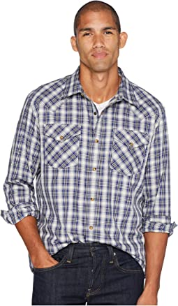 Long Sleeve Frontier Herringbone Shirt