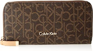 Calvin Klein Women's Monogram Zip-around Wallet