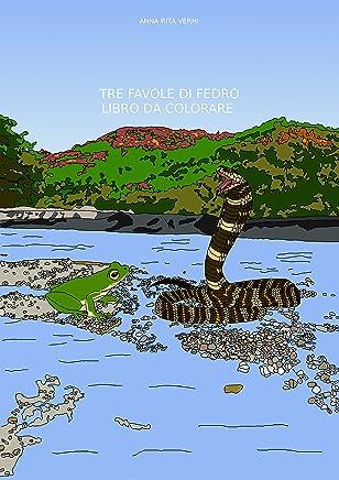 Tre favole di Fedro: Libro da colorare