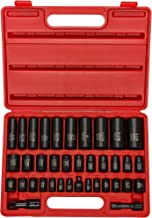 """Neiko 02443A 3/8"""" and 1/2"""" Drive Master Impact Socket Set, 38 Piece Deep and.."""