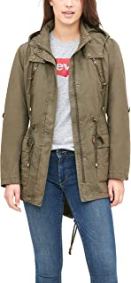 Women's Cotton Hooded Anorak Jacket (Standard & Plus Sizes)