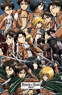 """Trends International Attack On Titan Collage Wall Poster 22.375"""" x 34"""""""
