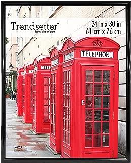 MCS Trendsetter Poster Frame, 24 by 30-Inch, Black, 1-Pack