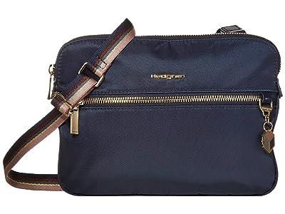 Hedgren Attraction 2 Compartment Crossbody (Mood Indigo) Handbags