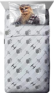 Star Wars Ep 8 Epic Poster Gray 4 Piece Full Sheet Set with Chewbacca & Stormtrooper