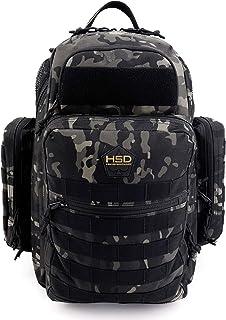 HSD Dad Diaper Bag Backpack, Changing Mat, Wipes & Bottle Pockets, Waterproof