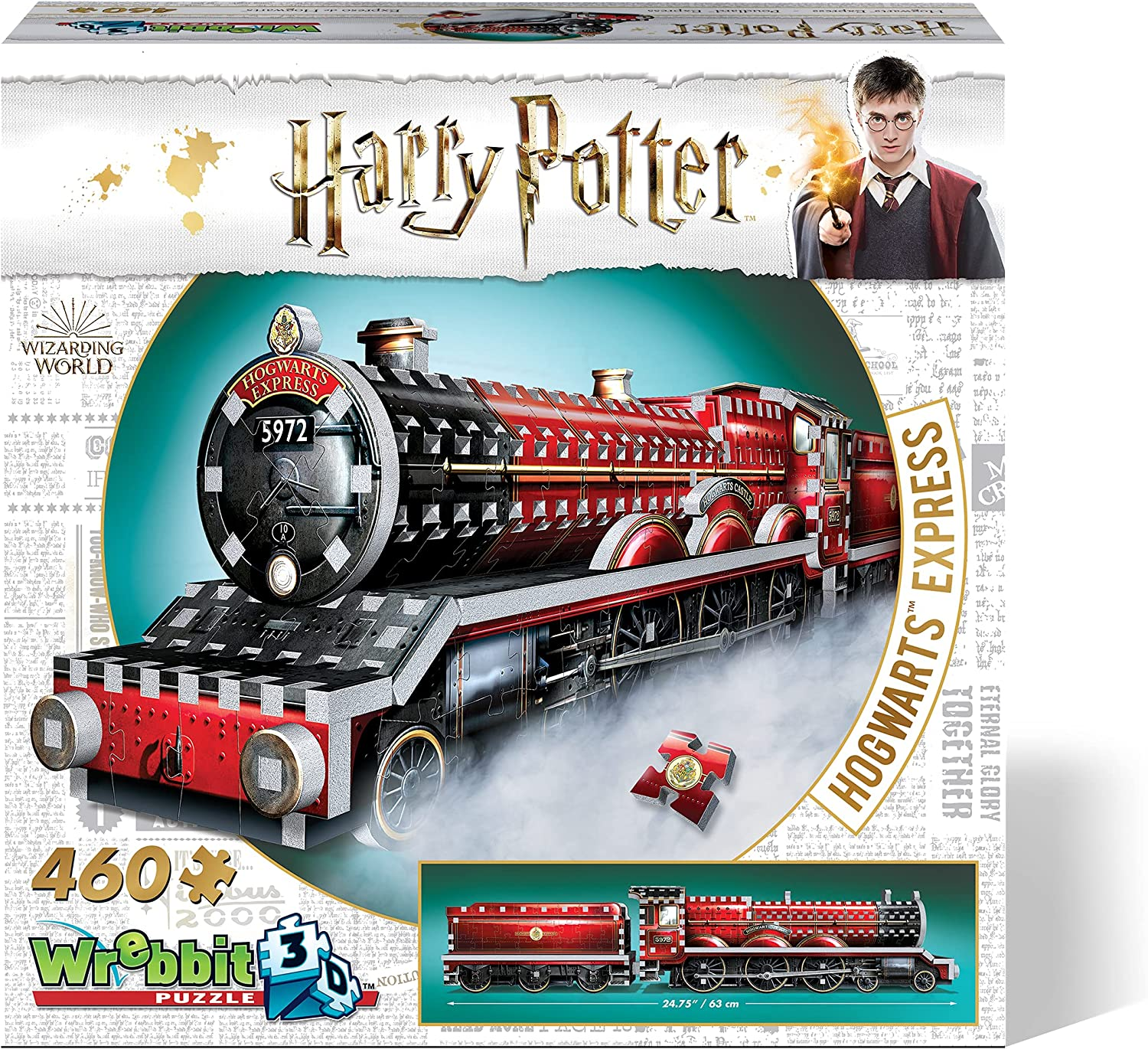 WREBBIT Special price for a limited time 3D Harry Potter Hogwarts P Ranking TOP17 Jigsaw Express Puzzle 460