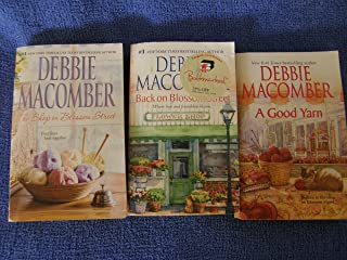 3 Book Set By Debbie Macomber Blossom Street Series ( the Shop on Blossom Street, Back on Blossom Street, a Good Yarn)