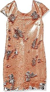 فستان بقصة واسعة مزين بالترتر من آرك-كو للنساء