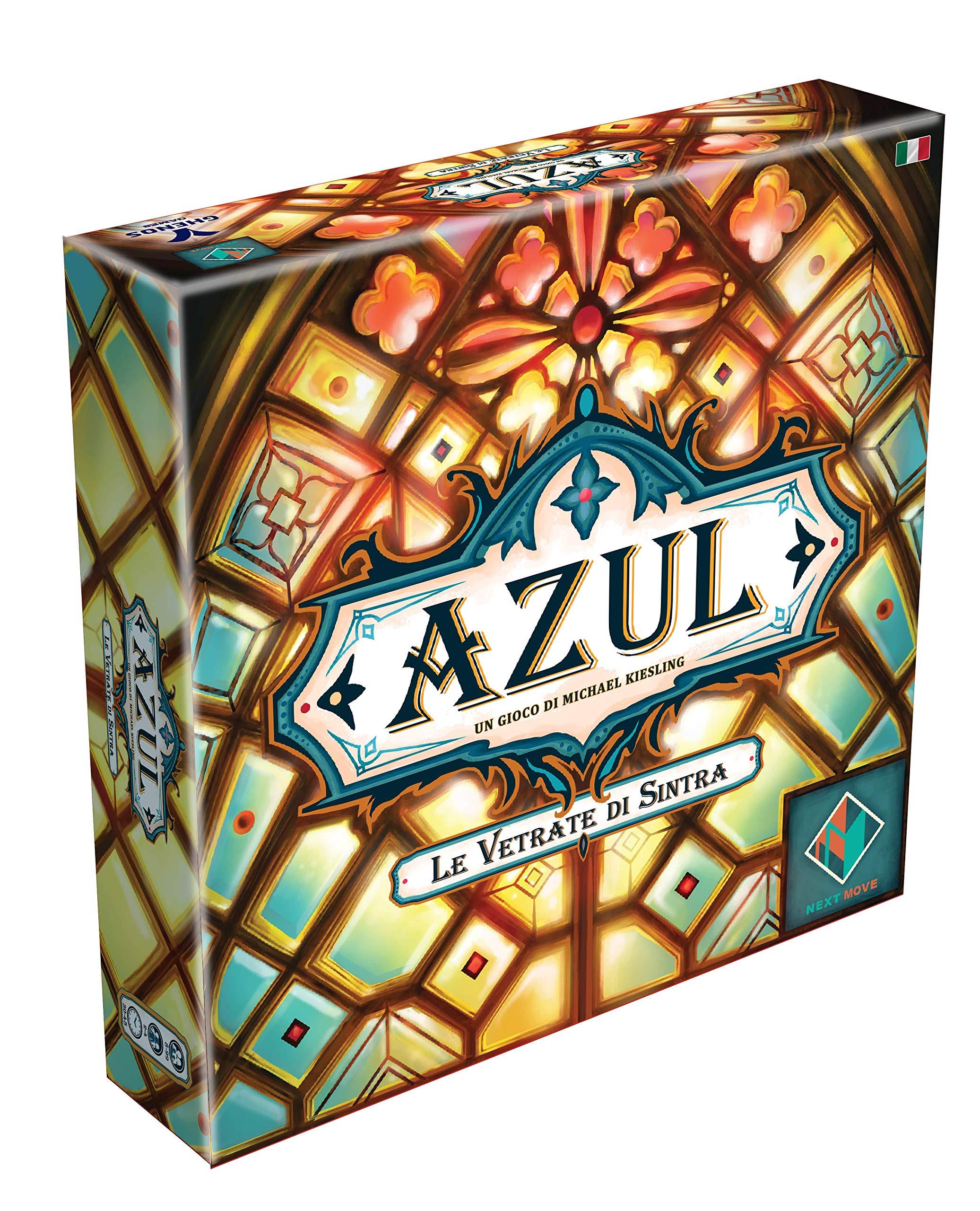 Ghenos Games GHE107 Azul-Le Vetrate di Sintra - Juego de Mesa: Amazon.es: Juguetes y juegos