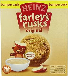 Heinz Farley's Rusks, Original Flavor, 300g Boxes (Pack of 6)