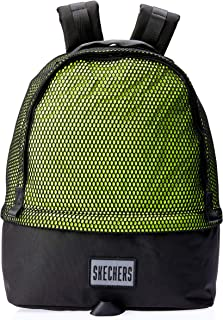 Skechers S548 Silver Mesh Lake Big Backpack, Green, 45 Centimeters