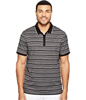 Calvin Klein - Short Sleeve Textured Stripe Polo Shirt