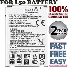Replacement Battery BL41ZH 1820mAh for L50 Battery H340n Leon H345 D213N C40 Tribute 2 Batería de repuesto