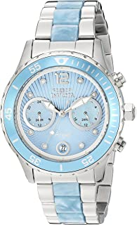 Women's Angel Quartz Watch with Two-Tone-Stainless-Steel Strap, 20 (Model: 24704)