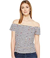 Lucky Brand - Stripe Off the Shoulder Top
