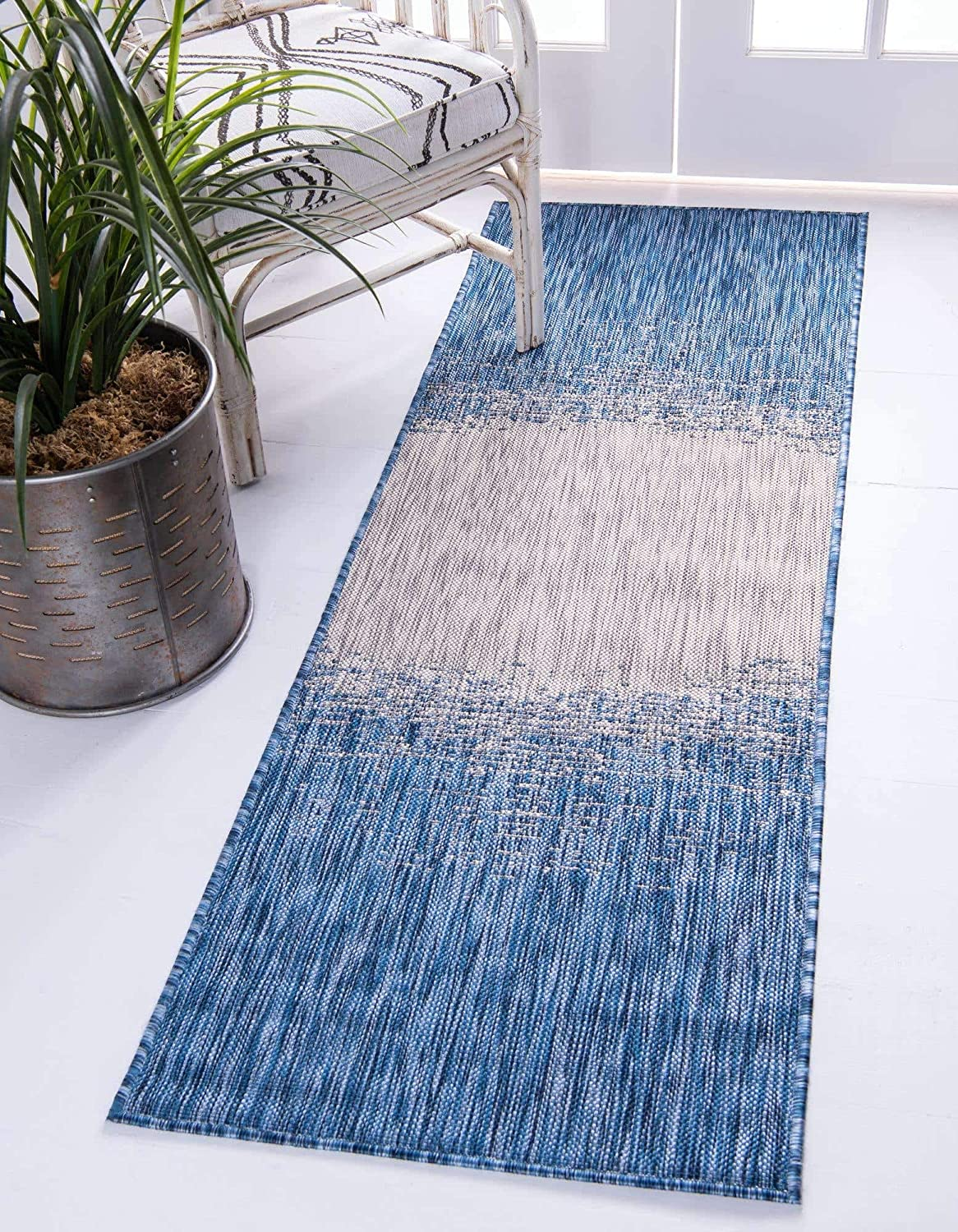 Unique Loom Modern Collection Transitional Gradient I Las Vegas Mall Distressed Outlet sale feature