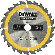 Dewalt DT1934-QZ cirkelzaagblad handkr. 165/20mm 24WZ, één maat, 1 stuk