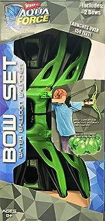 Whamo Aqua Force Bow Set - Water Balloon Launcher 2 Bows