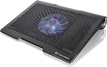 Thermaltake MASSIVE SP Dual Built-in Speaker 140mm LED Fan Gaming Laptop Notebook Cooling Pad