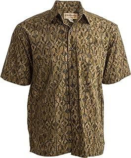 Johari West Mystic Maze Tropical Hawaiian Batik Shirt by