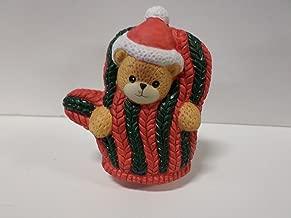 Lucy & Me Series (Enesco) **Bear Dressed as Winter Mitten Figurine** 143243