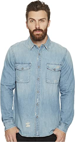 AG Adriano Goldschmied Benning Long Sleeve Denim Shirt