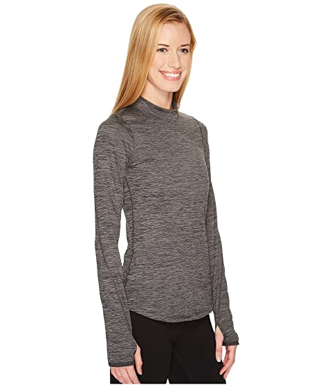 Armour Coldgear® Under Armor Metallic Mock UA Heather Carbon Silver Hq1awZ