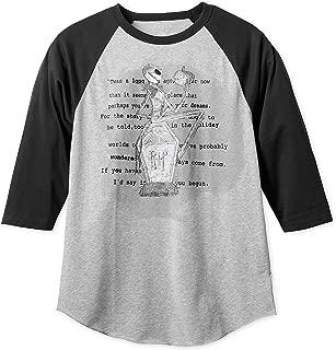 Disney Jack Skellington Baseball T-Shirt for Men Multi