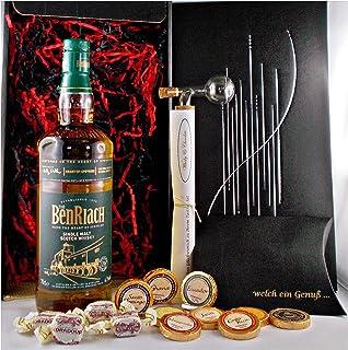 Geschenk BenRiach Heart of Speyside Whisky  Portionierer  Schokolade  Fudge