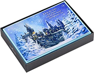 Hallmark Harry Potter Boxed Christmas Cards (16 Cards and 17 Envelopes)