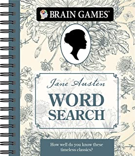 Brain Games - Jane Austen Word Search: How Well Do You Know These Timeless Classics?