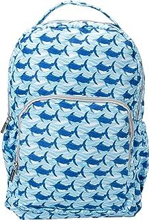 Blue Wave Marlins Reinforced Denier Water Resistant Book Bag Backpack
