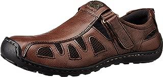 Alberto Torresi Men's Leather Hawaii Thong Sandals