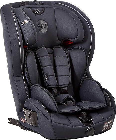 Mychild Stirling Group 123 ISOFIX Car Seat Charcoal: image